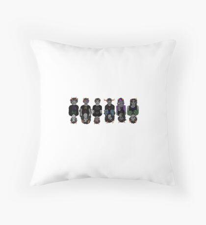 Homestuck Trolls- Mirror Throw Pillow