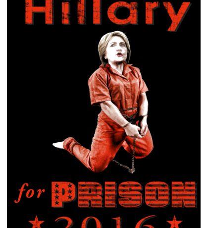 Hillary arrested Sticker