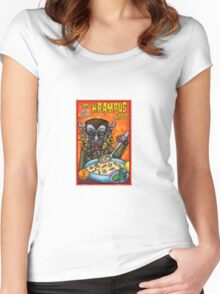 krampus kquisp Women's Fitted Scoop T-Shirt