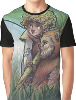 Cindel and wicket Graphic T-Shirt