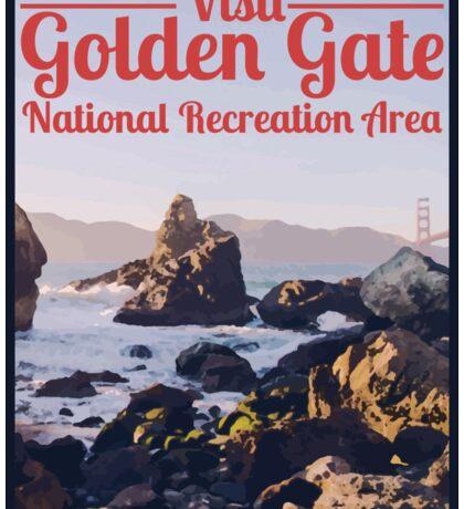 Visit Golden Gate National Recreation Area Sticker