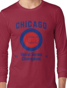 Chicago Cubs (World Series Edition) Long Sleeve T-Shirt