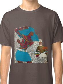 Psychedelic Paisley Rock n roll Classic T-Shirt