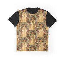 Art Nouveau Woman and Liqueur  Graphic T-Shirt