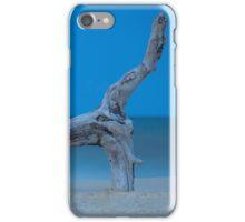 Driftwood on the beach iPhone Case/Skin