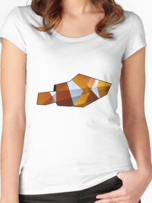 Glass Clownfish Women's Fitted Scoop T-Shirt