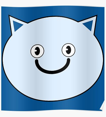 Happy Cat Thingy Poster