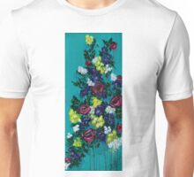 Teal Roses Unisex T-Shirt