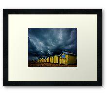 A Summer Day In Littlehampton Framed Print