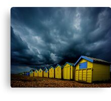 A Summer Day In Littlehampton Canvas Print