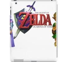 Child Link and Zelda - Ocarina of Time iPad Case/Skin