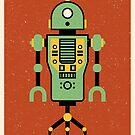 Tin Robot by FabledCreative