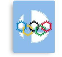 Smash Olympics Canvas Print