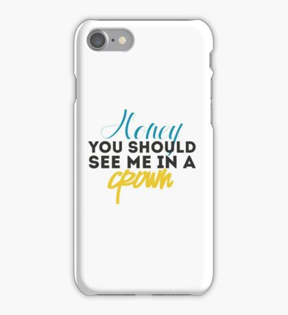 Moriarty Quotes iPhone Case/Skin