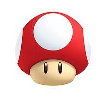 Mushroom from Mario by hozg