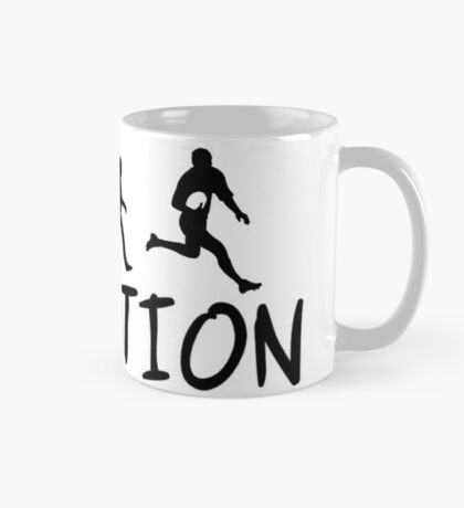 Rugby Evolution  Mug