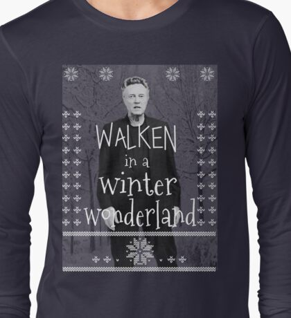 Walken Ugly Sweater Long Sleeve T-Shirt
