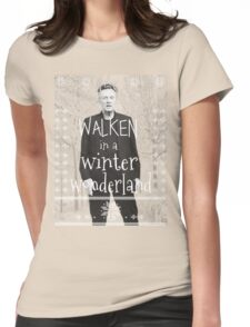 Walken Ugly Sweater Womens Fitted T-Shirt