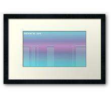 Antarctic Kiss Framed Print