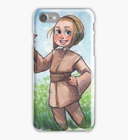 lil jedi girl  iPhone Case/Skin