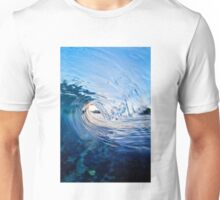 Vertical Blue Unisex T-Shirt