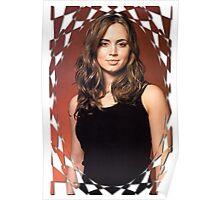 Buffy Angel Faith Eliza Dushku 2 Poster