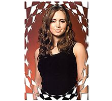 Buffy Angel Faith Eliza Dushku 2 Photographic Print