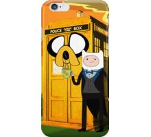 Cartoon Character of Police Public Call Box iPhone Case/Skin
