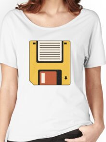 Floppy Disc Women's Relaxed Fit T-Shirt