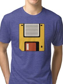 Floppy Disc Tri-blend T-Shirt