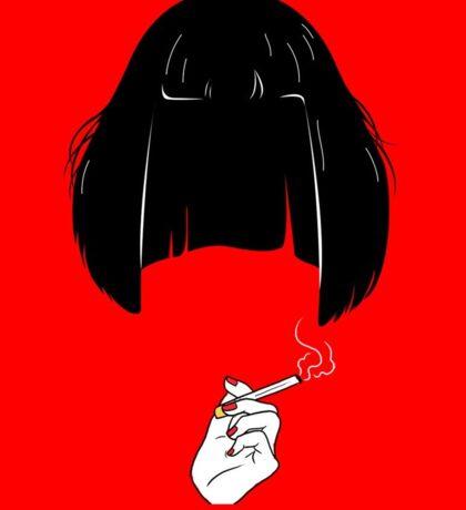 Mia - Pulp Fiction art Sticker