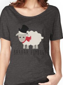 Sheep - Bah Humbug - Scrooge  Women's Relaxed Fit T-Shirt