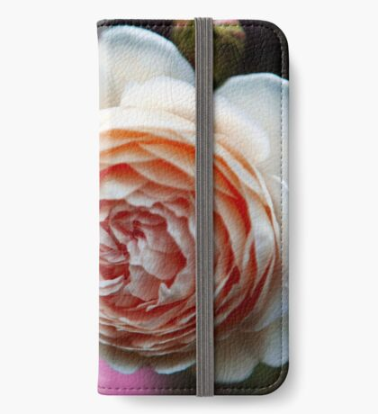 Pink Rose iPhone Wallet/Case/Skin