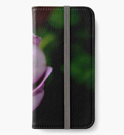 Purple Rose iPhone Wallet/Case/Skin