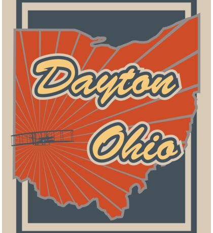 Dayton Ohio Sticker