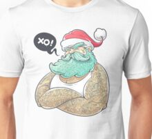 Hipsta Claus - Hipster Santa Claus Unisex T-Shirt