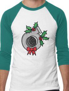 not your typical wreath Men's Baseball ¾ T-Shirt