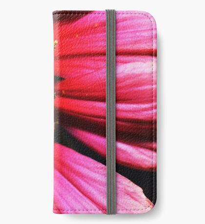 Bright Pink Flower iPhone Wallet/Case/Skin