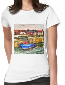 Port Seton Harbour Brights Womens Fitted T-Shirt