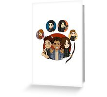 mccall pack s3 Greeting Card