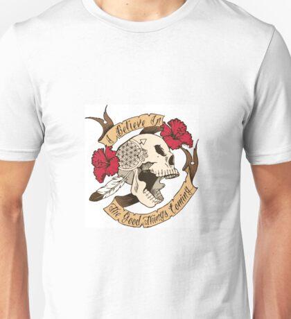 Nahko inspired: I Believe in the Good Things Coming Unisex T-Shirt
