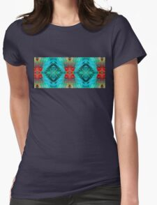 Colorful Patterns - Life Circles - By Sharon Cummings Womens Fitted T-Shirt