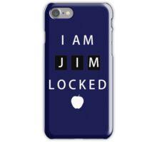 I am JIMLOCKED iPhone Case/Skin