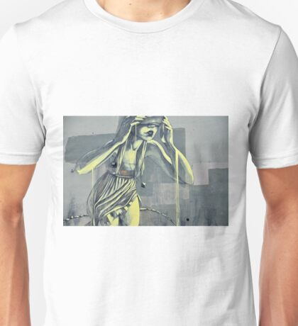 Norwegian street art Unisex T-Shirt