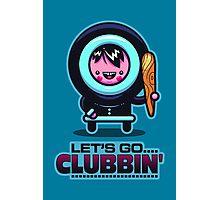 Clubbin' Photographic Print