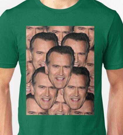 Bruce Campbell Evil Dead Head Shot Unisex T-Shirt