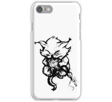 Cute Kitten playing with String iPhone Case/Skin