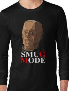 Kryten in Smug Mode Long Sleeve T-Shirt