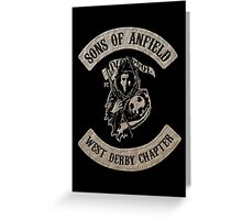Sons of Anfield - West Derby Chapter Greeting Card
