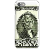 Two Federal Note Dollars iPhone Case/Skin